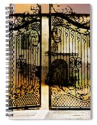 Unguarded Moment Spiral Notebook
