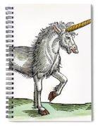 Unicorn, 1607 Spiral Notebook