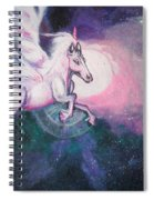 Unicorn And The Universe Spiral Notebook