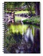 Unicorn Walk-bridge Spiral Notebook