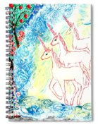 Unicorns Come Home Spiral Notebook