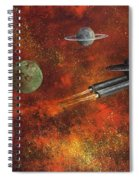 Unidentified Flying Object Spiral Notebook
