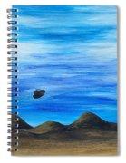 Unidentified Spiral Notebook
