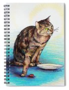 Uninvited Dinner Guest Spiral Notebook