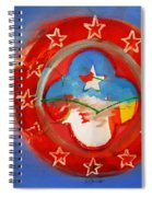 Union Blue Spiral Notebook