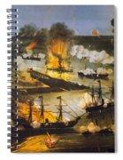 Union Bombardment, 1862 Spiral Notebook