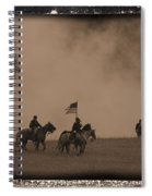 Union Cavalry Charge Spiral Notebook