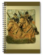 Union Cavalry Spiral Notebook