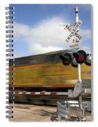 Union Pacific Coal Train Spiral Notebook