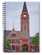 Union Pacific Railroad Depot Cheyenne Wyoming 01 Spiral Notebook