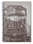 Union Pacific Train Spiral Notebook