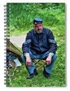 Union Sergeant Spiral Notebook