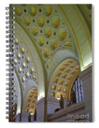 Union Station Ceiling Spiral Notebook