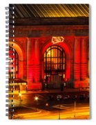 Union Station In Chiefs Red Spiral Notebook
