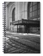 Union Station Kansas City In The Snow Spiral Notebook