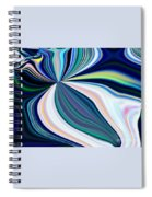 United Fronts Of A Rainbow Spiral Notebook