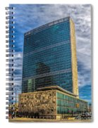 United Nations Headquarters Spiral Notebook