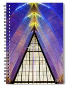 United States Air Force Academy Cadet Chapel 3 Spiral Notebook