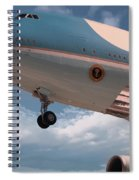 United States Air Force One Spiral Notebook