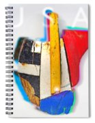 United States Of America Spiral Notebook