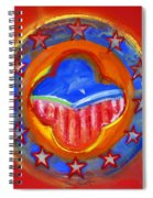 United States Of Europe Spiral Notebook