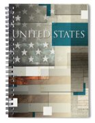 United States Spiral Notebook