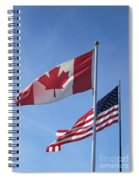 United We Stand Divided We Fall Spiral Notebook