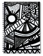 Night And Day 2 Spiral Notebook