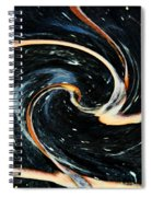 Universe In Motion Spiral Notebook