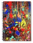 Universe Spaces Splash Spiral Notebook