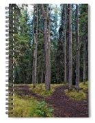 University Of Alaska Fairbanks Trail System Spiral Notebook