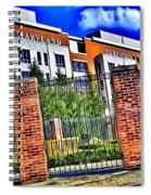 University Of Maryland - Byrd Stadium Spiral Notebook