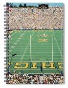 University Of Michigan Stadium, Ann Spiral Notebook