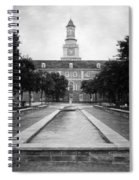 University Of North Texas Bw Spiral Notebook
