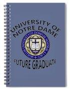 University Of Notre Dame Future Graduate Spiral Notebook
