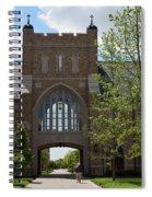 University Of Notre Dame Spiral Notebook
