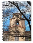 University Tower Mason Hall - Pomona College - Framed By Trees Spiral Notebook