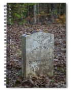 Unknown Confederate Soldier - Natchez Trace Spiral Notebook
