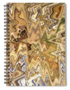 Unknown Paths Abstract Art Spiral Notebook