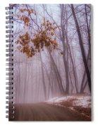 Unknown Road Spiral Notebook