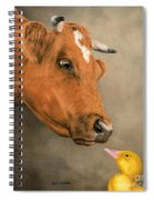 Friends Come In All Sizes Spiral Notebook