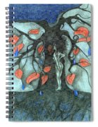 Unmarried Woman Spiral Notebook