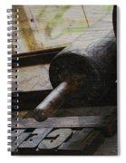 Unnoticed Inner Goings On Spiral Notebook