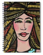 Unruly Hair Spiral Notebook