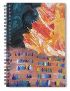 Unseen Battle Spiral Notebook