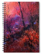 Unset In The Wood Spiral Notebook
