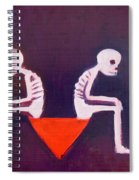 Until Death Do Us Part Spiral Notebook