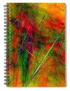 Untitled 0123-10 Spiral Notebook