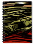 Untitled 02-06-10-b Spiral Notebook