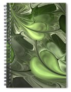Untitled 1-26-10 Pale Green Spiral Notebook